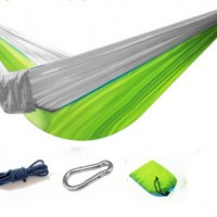 Outdoor parachute cloth 210T nylon hammock