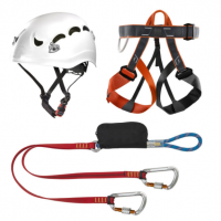 Climbing Technology Classic Accessory Set for Climbing, Hat Clip, Multi-Colour