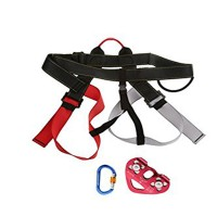 Safety Harness Rope Pulley Screw Locking Carabiner Equipment