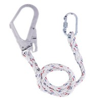 Safety Lanyard Rope & Carabiner,Large Snap Locking Hook